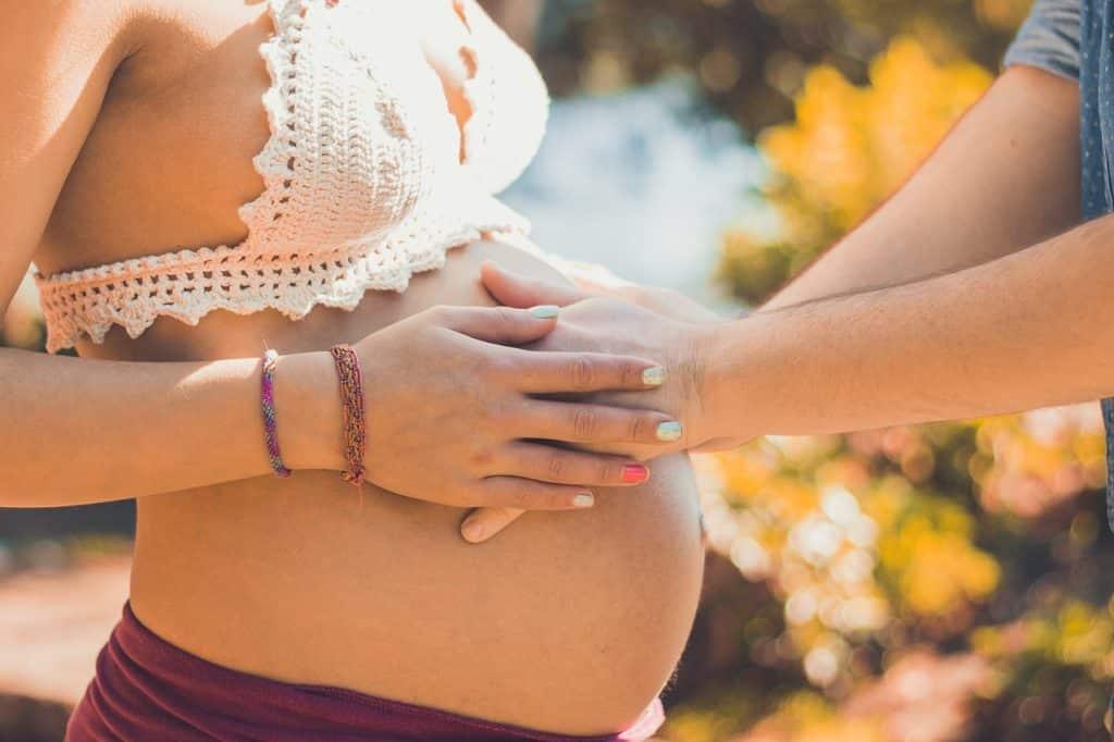 La «femme enceinte» par Nicole Kretchmann