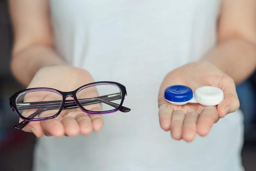 Comment convertir son ordonnance de lunettes en ordonnance pour vos lentilles?